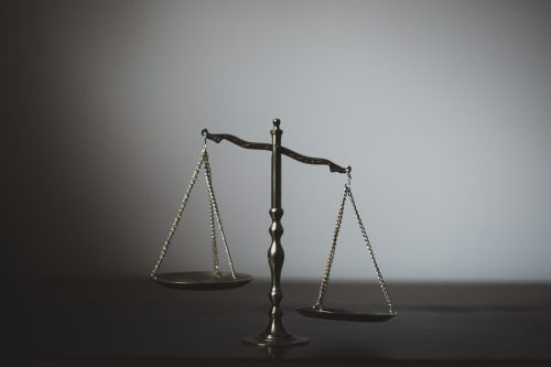 out of balance scale