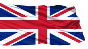 UK Flag symbolizes Britain