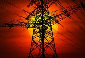 electricity, power pole